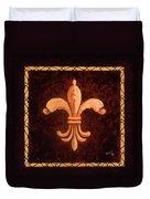 Fleur De Lys-king Charles Vii Duvet Cover
