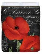 Fleur Du Jour Poppy Duvet Cover