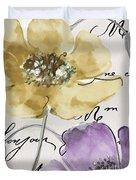 Fleurs De France II Duvet Cover