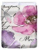 Fleurs De France IIi Duvet Cover