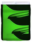 Flight - Green Version Duvet Cover