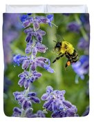 Flight Of The Bumble Bee Duvet Cover