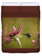 Flight Of The Mason Bee Duvet Cover
