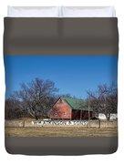 Flint Hills Barn Duvet Cover