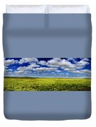 Flint Hills Panorama 1 Duvet Cover