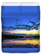 Flint River Part Two Duvet Cover