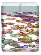 Float On The Water Duvet Cover