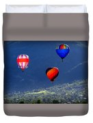 Floatin' In The Rockies 22 Duvet Cover