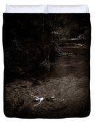 Floating In Light Duvet Cover by Scott Sawyer