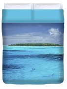 Floating Island Duvet Cover