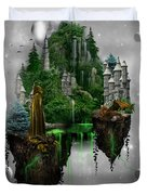 Floating Kingdom Duvet Cover
