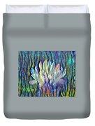 Floating Lotus - Blessed Duvet Cover
