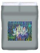 Floating Lotus - Gratitude Duvet Cover