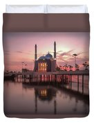 Floating Mosque Duvet Cover