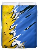 Floating On Blue 33 Duvet Cover