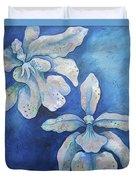 Floating Orchid Duvet Cover