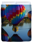 Floating Reflections Duvet Cover
