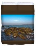 Floating Rocks Duvet Cover