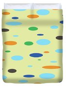 Floating Saucers Duvet Cover