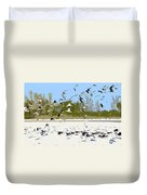 Flock Of Seagulls Duvet Cover