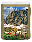 Floe Lake Duvet Cover