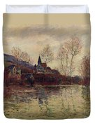 Floods At Giverny Duvet Cover