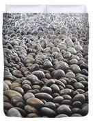 Floor Of Rocks Duvet Cover