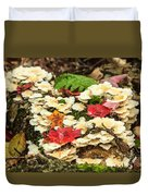Floor Of The Forest In Fall Duvet Cover