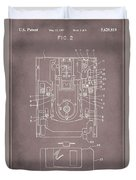 Floppy Disk Assembly Patent Drawing 1a Duvet Cover