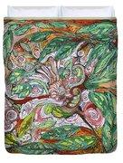 Flora And Fauna Duvet Cover