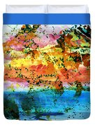 Rustic Landscape Abstract  D2131716 Duvet Cover