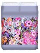 Floral Art Clviii Duvet Cover