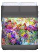 Floral Art Cxi Duvet Cover