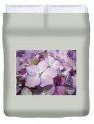 Floral Art Hydrangea Flowers Purple Lavender Baslee Troutman Duvet Cover