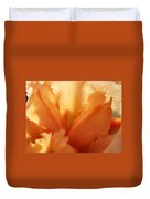 Floral Art Orange Iris Flower Sunlit Baslee Troutman Duvet Cover