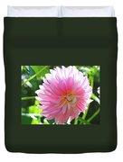 Floral Art Prints Pink Dahlias Sunlit Baslee Troutman Duvet Cover