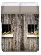 Floral Barn Planters Duvet Cover
