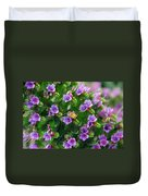 Floral Beehive Duvet Cover