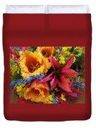 Floral Blast Duvet Cover