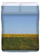 Floral Blur Duvet Cover