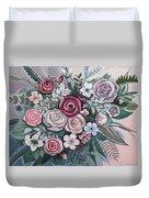 Floral Boom Duvet Cover