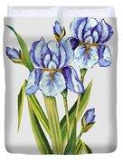 Floral Botanicals-jp3786 Duvet Cover