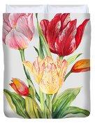 Floral Botanicals-jp3788 Duvet Cover
