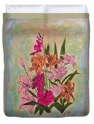 Floral Bouquet Duvet Cover