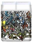 Floral Bush I Duvet Cover