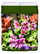 Floral Design 5 Light Duvet Cover