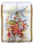 Floral Display 1 Duvet Cover