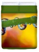 Floral Drop Trio  8054 Duvet Cover