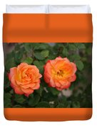 Floral Duo Duvet Cover