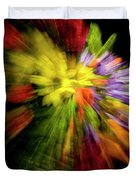 Floral Explosion Duvet Cover